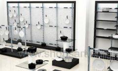 Дизайн интерьера магазина посуды BergHOFF коллекция МЕБЕЛЬ ДЛЯ ПОСУДЫ Дизайн 12