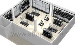Дизайн интерьера магазина посуды BergHOFF коллекция МЕБЕЛЬ ДЛЯ ПОСУДЫ Дизайн 14