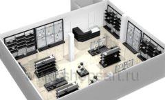 Дизайн интерьера магазина посуды BergHOFF коллекция МЕБЕЛЬ ДЛЯ ПОСУДЫ Дизайн 15