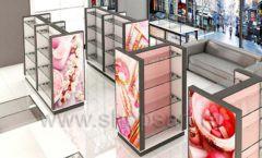 Дизайн интерьера магазина косметики коллекция ПУДРА Дизайн 01