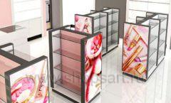 Дизайн интерьера магазина косметики коллекция ПУДРА Дизайн 02