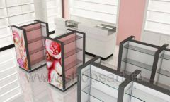 Дизайн интерьера магазина косметики коллекция ПУДРА Дизайн 03