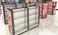 Дизайн интерьера магазина косметики коллекция ПУДРА Дизайн 04