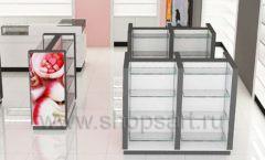 Дизайн интерьера магазина косметики коллекция ПУДРА Дизайн 05