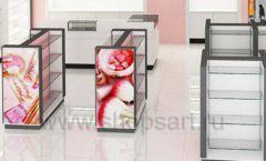 Дизайн интерьера магазина косметики коллекция ПУДРА Дизайн 06