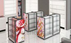 Дизайн интерьера магазина косметики коллекция ПУДРА Дизайн 07