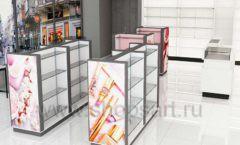Дизайн интерьера магазина косметики коллекция ПУДРА Дизайн 08