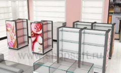 Дизайн интерьера магазина косметики коллекция ПУДРА Дизайн 09