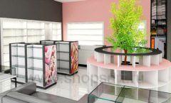 Дизайн интерьера магазина косметики коллекция ПУДРА Дизайн 10