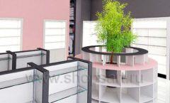 Дизайн интерьера магазина косметики коллекция ПУДРА Дизайн 12