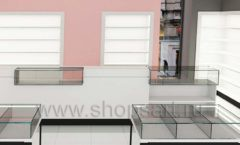 Дизайн интерьера 2 магазина косметики коллекция ПУДРА Дизайн 03