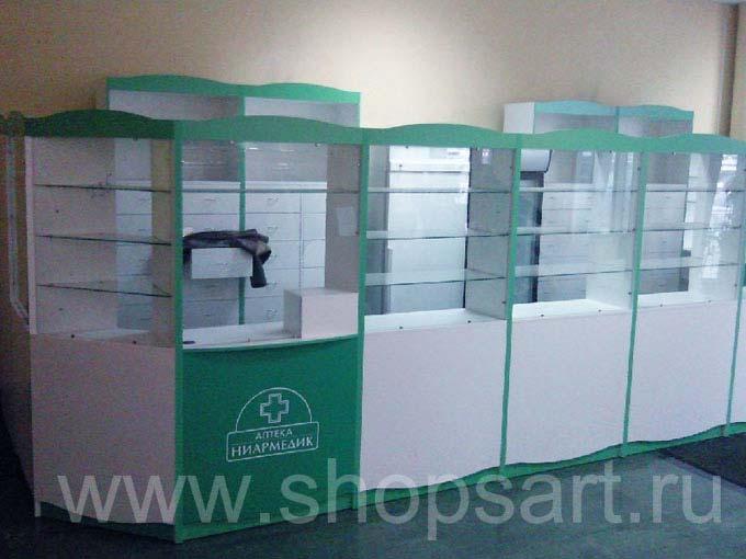 Торговое оборудование аптеки Ниармедик Фото 03