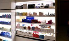 Торговое оборудование для косметики салона красоты DESSANGE Ленинский проспект коллекция ПУДРА Фото 10