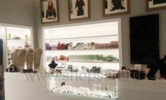 Торговое оборудование для косметики салона красоты DESSANGE Лесная улица коллекция ПУДРА Фото 02