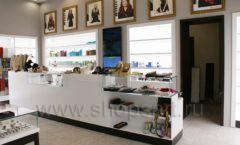 Торговое оборудование для косметики салона красоты DESSANGE Лесная улица коллекция ПУДРА Фото 03