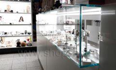 Торговое оборудование для косметики салона красоты DESSANGE Лесная улица коллекция ПУДРА Фото 06