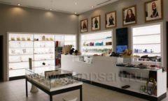 Торговое оборудование для косметики салона красоты DESSANGE Лесная улица коллекция ПУДРА Фото 08