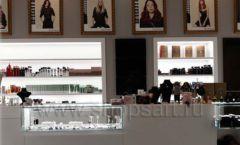 Торговое оборудование для косметики салона красоты DESSANGE Лесная улица коллекция ПУДРА Фото 09