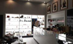 Торговое оборудование для косметики салона красоты DESSANGE Лесная улица коллекция ПУДРА Фото 10