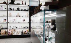 Торговое оборудование для косметики салона красоты DESSANGE Лесная улица коллекция ПУДРА Фото 11
