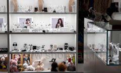 Торговое оборудование для косметики салона красоты DESSANGE Лесная улица коллекция ПУДРА Фото 13