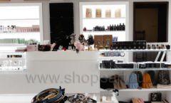 Торговое оборудование для косметики салона красоты DESSANGE Лесная улица коллекция ПУДРА Фото 14