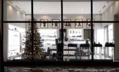 Торговое оборудование для косметики салона красоты DESSANGE Лесная улица коллекция ПУДРА Фото 15