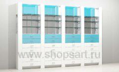 Аптечные витрины задняя линия
