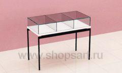 Стол для продажи косметики торговое оборудование ПУДРА