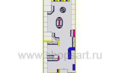 Дизайн интерьера магазина в Green park коллекция ЦВЕТНЫЕ МЕТАЛЛИЧЕСКИЕ СТЕЛЛАЖИ Дизайн 15