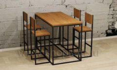 Высокий стол со стульями