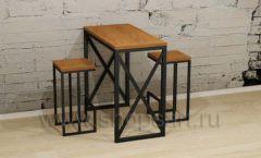Столик с табуретами для кафе и баров