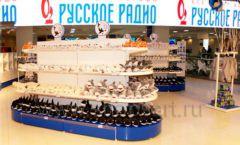 Торговое оборудование 2 детского сувенирного магазина Москвариум ВДНХ ЦВЕТНЫЕ МЕТАЛЛИЧЕСКИЕ СТЕЛЛАЖИ Фото 10