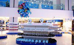 Торговое оборудование 2 детского сувенирного магазина Москвариум ВДНХ ЦВЕТНЫЕ МЕТАЛЛИЧЕСКИЕ СТЕЛЛАЖИ Фото 12