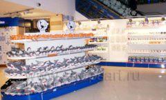 Торговое оборудование 2 детского сувенирного магазина Москвариум ВДНХ ЦВЕТНЫЕ МЕТАЛЛИЧЕСКИЕ СТЕЛЛАЖИ Фото 13