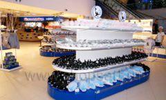 Торговое оборудование 2 детского сувенирного магазина Москвариум ВДНХ ЦВЕТНЫЕ МЕТАЛЛИЧЕСКИЕ СТЕЛЛАЖИ Фото 18