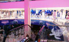 Торговое оборудование 2 детского сувенирного магазина Москвариум ВДНХ ЦВЕТНЫЕ МЕТАЛЛИЧЕСКИЕ СТЕЛЛАЖИ Фото 26