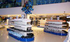 Торговое оборудование 2 детского сувенирного магазина Москвариум ВДНХ ЦВЕТНЫЕ МЕТАЛЛИЧЕСКИЕ СТЕЛЛАЖИ Фото 30