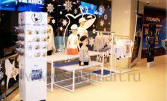 Торговое оборудование 2 детского сувенирного магазина Москвариум ВДНХ ЦВЕТНЫЕ МЕТАЛЛИЧЕСКИЕ СТЕЛЛАЖИ Фото 31