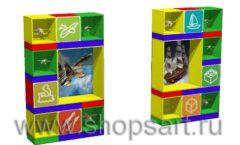 Дизайн интерьера магазина Город Мастеров коллекция ТОРГОВЫЕ СТЕЛЛАЖИ Дизайн 7