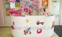 Торговое оборудование в магазине Гоша ТОРГОВЫЕ СТЕЛЛАЖИ Фото 09