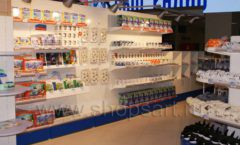 Торговое оборудование магазина сувениров Москвариум ВДНХ БРЕНДОВЫЕ СТЕЛЛАЖИ Фото 15
