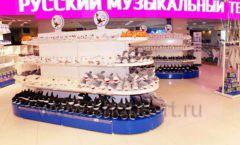 Торговое оборудование магазина сувениров Москвариум ВДНХ БРЕНДОВЫЕ СТЕЛЛАЖИ Фото 21