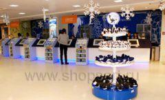 Торговое оборудование магазина сувениров Москвариум ВДНХ БРЕНДОВЫЕ СТЕЛЛАЖИ Фото 22