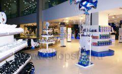 Торговое оборудование магазина сувениров Москвариум ВДНХ БРЕНДОВЫЕ СТЕЛЛАЖИ Фото 28