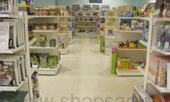 Торговое оборудование в магазине Планета детства ТОРГОВЫЕ СТЕЛЛАЖИ Фото 2