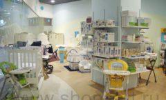 Торговое оборудование в магазине Планета детства ТОРГОВЫЕ СТЕЛЛАЖИ Фото 5