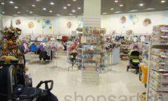 Торговое оборудование в магазине Планета детства ТОРГОВЫЕ СТЕЛЛАЖИ Фото 7