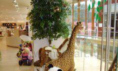 Торговое оборудование отдела игрушек магазина Винни ТЦ Dream House ЦВЕТНЫЕ МЕТАЛЛИЧЕСКИЕ СТЕЛЛАЖИ Фото 11