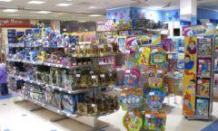 Торговое оборудование в магазине Мария ТОРГОВЫЕ СТЕЛЛАЖИ Фото 01
